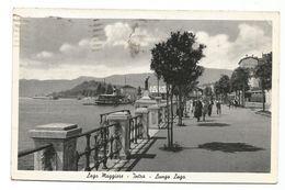 XW 3761 Verbania - Intra - Lago Maggiore - Lungo Lago Lungolago - Imbarcadero - Barche Boats Bateaux / Viaggiata 1941 - Verbania