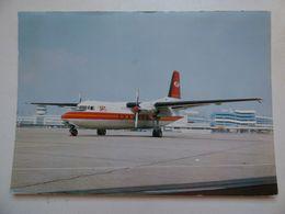 SAT   FOKKER 27  AIRLINE ISSUE / CARTE COMPAGNIE - 1946-....: Ere Moderne