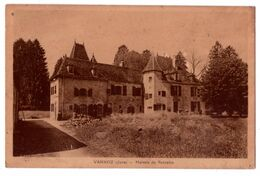 7576 JD - Vannoz ( 39 ) - Maison De Retraite - Imp. Bourgeois à Ch. Sur S. - - Francia