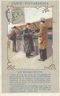 75 - PARIS - PITTORESQUE - Le Bouquiniste - Petits Métiers à Paris