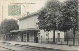 SAINT DENIS DE CABANNE La Gare (intérieur) - Otros Municipios
