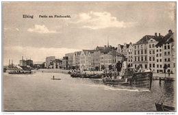 POLOGNE - ELBING - Partie Am Fischmarkt - Polonia