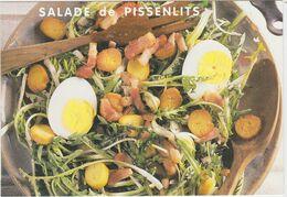 RECETTE DE CUISINE La Salade De Pissenlits - Recetas De Cocina