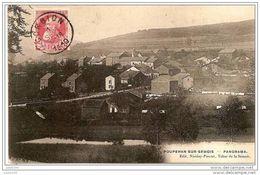 POUPEHAN ..--  Panorama .   1910 Vers SEDAN ( Mr Mme E. ROSSINFELD ) .  Voir Verso . - Bouillon