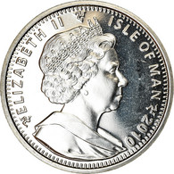 Monnaie, Isle Of Man, Crown, 2010, Pobjoy Mint, Aviron, SPL, Cupro-nickel - Monnaies Régionales