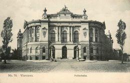 Warszawa * Politechnika * Varsovie Pologne Poland Polen - Polonia