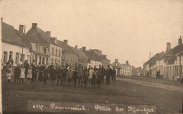 Pommeroeul * Bernissart * Carte Photo * Place Des Martyrs * Belgique Hainaut - Bernissart