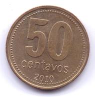 ARGENTINA 2010: 50 Centavos, KM 111 - Argentinië