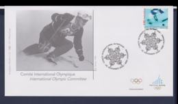 Switzerland Comite International Olympique FDC 2006 Torino Olympic Games (NB**LAR9-166) - Winter 2006: Torino