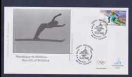 Moldova FDC 2006 Torino Olympic Games (NB**LAR9-166) - Winter 2006: Torino