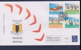 Bahamas FDC 2000 Sydney Olympic Games (NB**LAR9-166) - Verano 2000: Sydney