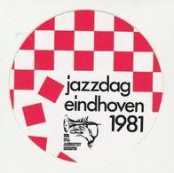 Sticker: Jazzdag 1981 Eindhoven (NL) - Autocollants