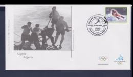 Algeria FDC 2006 Torino Olympic Games (NB**LAR9-166) - Winter 2006: Torino