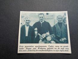 """Origineel Knipsel ( 6003 ) Uit Tijdschrift """" De Stad """"  1937 :    Buyse   Wetteren - Alte Papiere"""