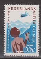 Nederlands Nieuw Guinea Dutch New Guinea Nr 53 MLH ; Expeditie Sterrengebergte 1959 Helicopter Helikopter - Hubschrauber
