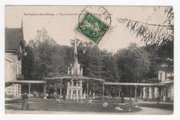 DF / 51 MARNE / SERMAIZE-LES-BAINS / VUE D'ENSEMBLE DE L'ÉTABLISSEMENT THERMAL / ANIMÉE / 1913 - Sermaize-les-Bains