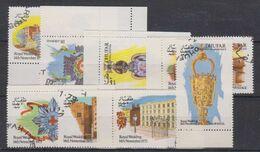 Dhufar 1973 Royal Wedding 8vused (49408) - Fantasy Labels
