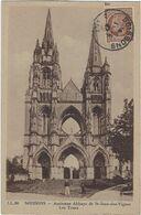 02    Soissons  Ancienne Abbaye De Saint Jean Des Vignes Les Tours - Soissons