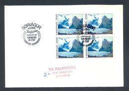 FOROYAR-DENMARK 1977 - Commemorative First Flight Cancel Foroyar-Danmark, DANAIR B-737. - Färöer Inseln