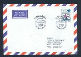 FOROYAR-DENMARK 1977 - Commemorative First Flight Cancel On Air Mail Cover Foroyar-Danmark, DANAIR B-737. - Färöer Inseln