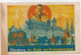 DC3011 - Militaria WW2 Propaganda Germany - Adolf Hitler Nürnberg Reichsparteitag REPRO - Guerre 1939-45