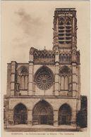 02    Soissons  La Cathedrale Avant La Guerre - Soissons