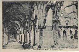 02    Soissons  Ancienne Abbaye De Saint Jean Des Vignes  Grand   Cloitre - Soissons