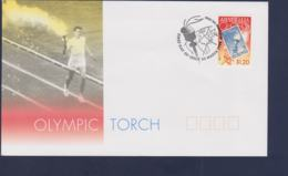 Australia FDC 1999 Torch Relay 2000 Sydney Olympic Games (NB**LAR9-166) - Verano 2000: Sydney