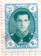 PIA - IRAN  - 1957: Scià Riza Pahalavi - (Yv   879) - Iran