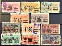FRANCE 1926 - Canceled - YT 34, 35, 36, 37, 39, 40, 42, 43, 44, 45, 46 - COLIS POSTAUX - Nuevos
