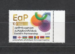 Georgia Georgien 2019 Issued 2020 MNH ** Mi 738 Eastern Partnership - Georgia