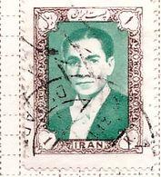 PIA - IRAN  - 1957: Scià Riza Pahalavi - (Yv   873A) - Irán