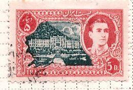 PIA - IRAN  - 1950: Scià Riza Pahalavi E Monumenti - (Yv   717) - Irán