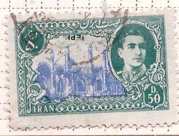 PIA - IRAN  - 1950: Scià Riza Pahalavi E Monumenti - (Yv   721) - Irán