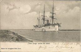 """000801 - """"VINH LONG"""" - ARRIVEE AU CANAL - 1906 - Paquebots"""