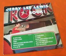 Vinyle 33 Tours  Jerry Lewis   Rock !  (1977) Musidisc 30CV 1397 - Rock