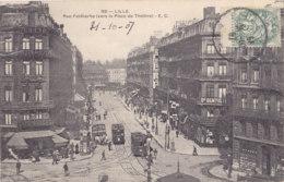 Lille (59) - Rue Faidherbe Vers La Place Du Théatre - Tramway - Lille