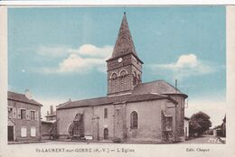 87 SAINT LAURENT Sur GORRE L'eglise - Saint Laurent Sur Gorre