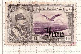 PIA - IRAN  - 1935 - Francobollo Di Posta Aerea Del 1930 Sovrastampato- (Yv  P.A. 57) - Irán