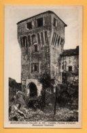 Moncrivello (Vercelli) - Castello, Portone D'Entrata Monumento Nazionale - Vercelli