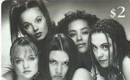 ESTADOS UNIDOS. Spice Girls - British Popband. 06/97. US-SPR-SIN-0001. (160). - Other