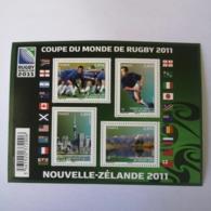 FRANCE Bloc Feuillet Carnet COUPE DU MONDE DE RUGBY NOUVELLE ZELANDE 2011 ! NEUF ! Collection Timbre Poste - Blocs & Feuillets