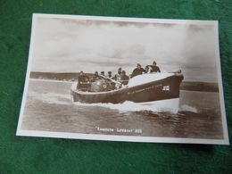 VINTAGE UK EAST DEVON: EXMOUTH The Lifeboat 1935 Sepia Puddicombe - Other