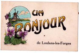 """7584 JD - Loulans Les Forges ( 70 ) - ( Fantaisie ) - """" Un Bonjour De Loulans Les Forges """" - C. Lardier - - Francia"""