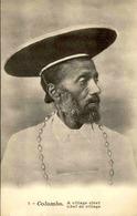 CEYLAN - Carte Postale - Colombo - Chef De Village - L 66780 - Sri Lanka (Ceylon)