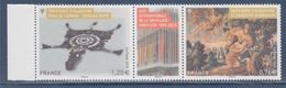 Cité Internationale De La Tapisserie Aubusson Diptyque + Vignette à 1.96€ N°4999 Et 5000 P4999/00 Composé 4999 Et 5000 - Frankreich