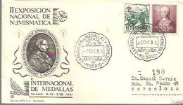 MATASELLOS 1951 MADRID - 1951-60 Cartas