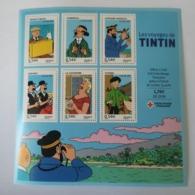 FRANCE Bloc Feuillet Carnet LES VOYAGES DE TINTIN CROIX ROUGE 2007 ! NEUF ! Collection Timbre Poste - Blocs & Feuillets