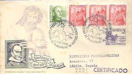 MATASELLOS 1949  MADRID - 1931-50 Cartas