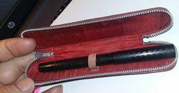 WATERMAN'S. FOURTAIN PEN. Penna Con Astuccio. Vintage. Penne. Stilografica. Pennino. Porta Penna. - Schrijfgerief